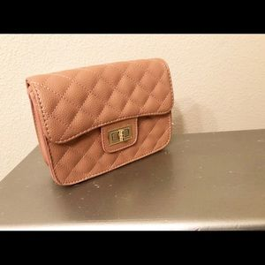 Quilted purse.